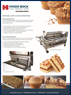 Hinds-Bock Streusel-Brochure